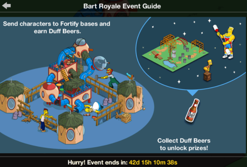 Land Tapped Out Size Update Simpsons