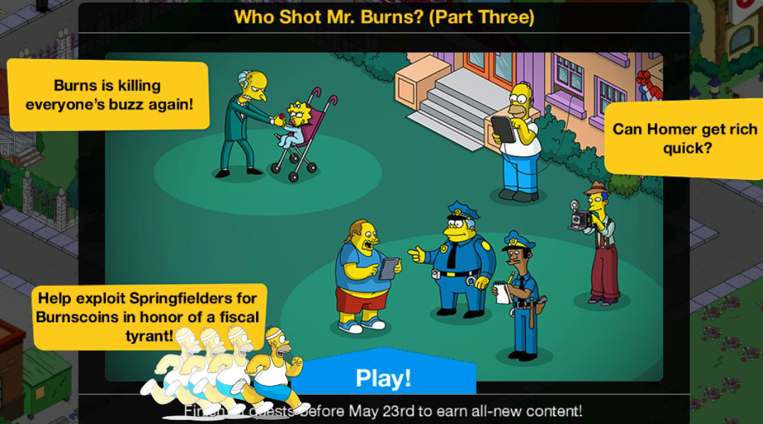 did people really bet on who shot mr burns