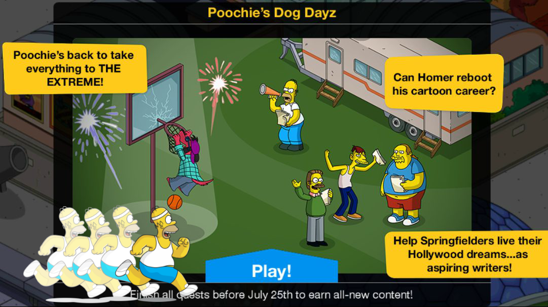 Simpsons tapped out halloween 2018 prizes for powerball