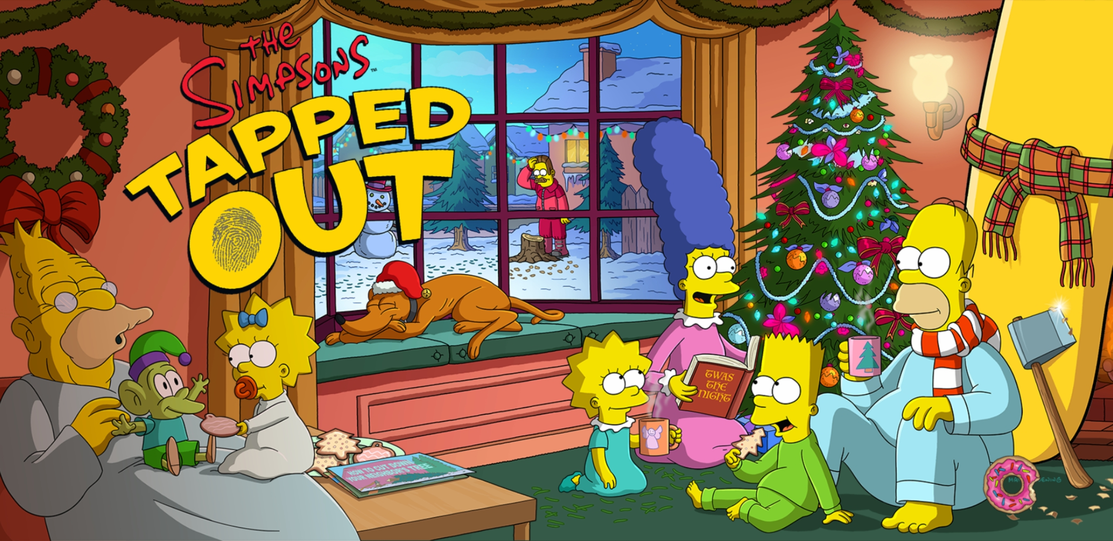 The Simpsons Tapped Out Christmas 2019 2018 Christmas EventThe Simpsons Tapped Out AddictsAll Things The