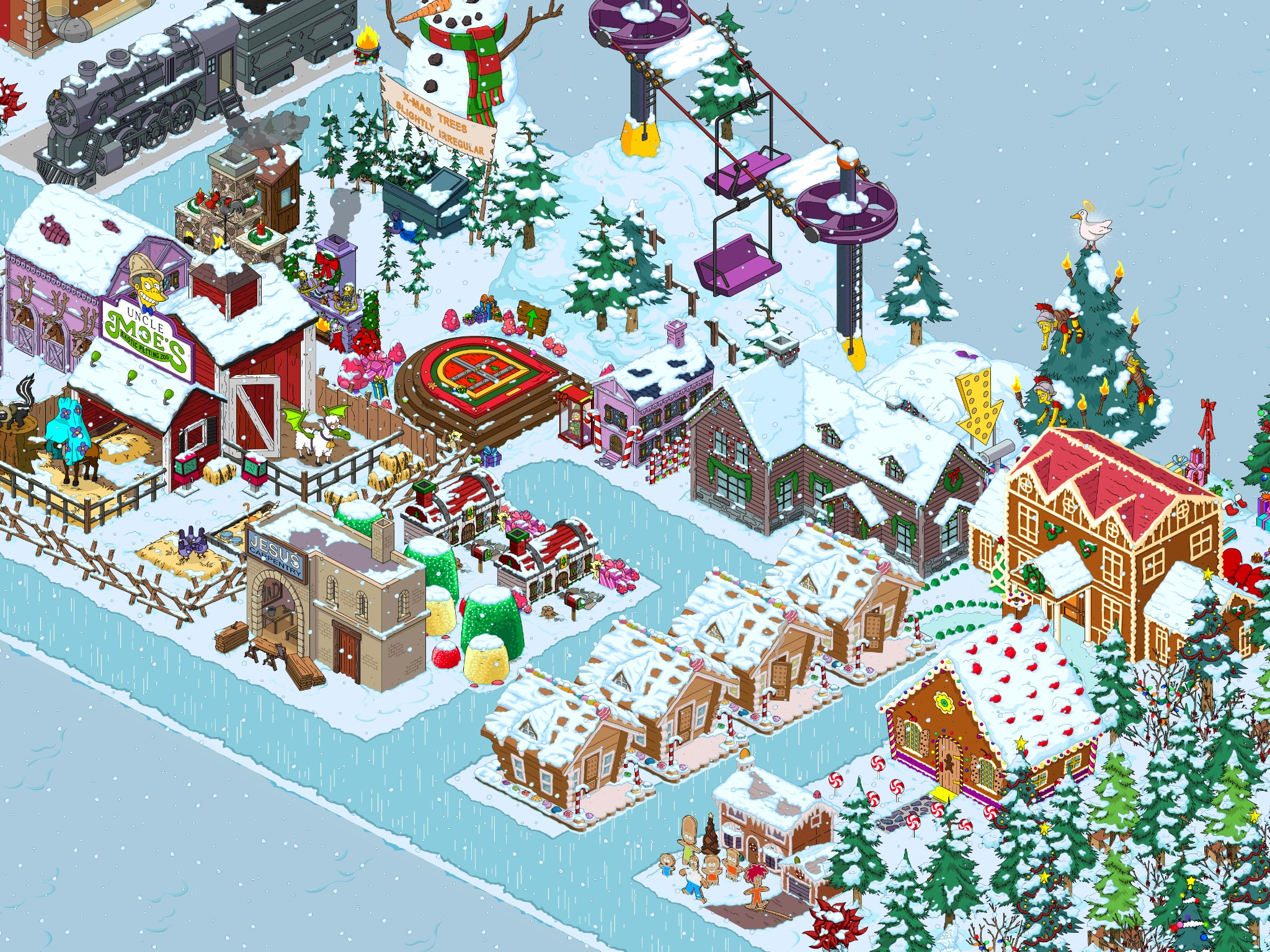 Tsto Christmas 2019 Springfield Showoff: Christmas 2018The Simpsons Tapped Out