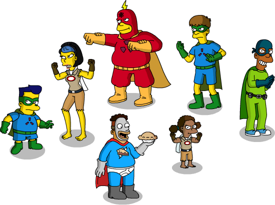 Game Of Games The Sequel Prize Guide Act 4 Prizes 3 And 5 Crowd Of Cosplayers And Frinkiac 7the Simpsons Tapped Out Addictsall Things The Simpsons Tapped Out For The Tapped Out