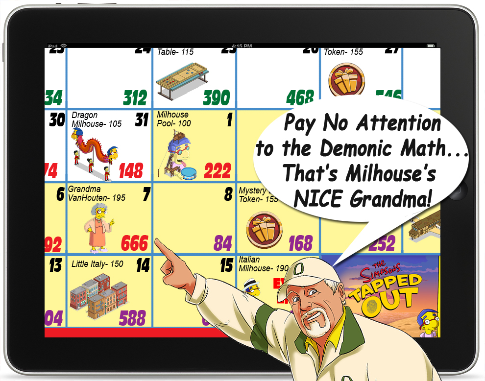 Tapped Out Halloween Event 2020 Cool Down The Van Houtons Event Calendar and Math You Need to Get It All!The